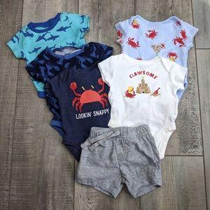 Baby boy 0-3 mo old Navy bundle